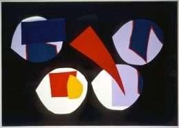 Richard Mortensen 1910-1993 - Komposition  -  Richard Mortensen 1910-1993 - 1620B