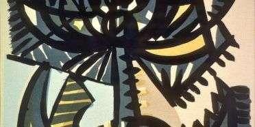 Kålorme æder grønkål  –  Richard Mortensen – 177B