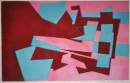 Richard Mortensen 1910-1993 - Komposition  -  Richard Mortensen 1910-1993 - 1843B
