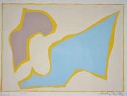 Richard Mortensen 1910-1993 - Komposition  -  Richard Mortensen 1910-1993 - 1969B