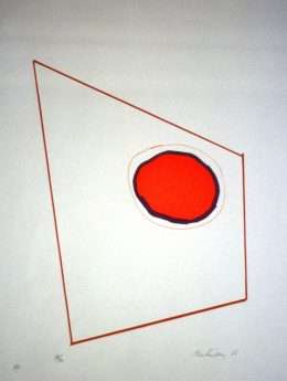 Richard Mortensen 1910-1993 - Komposition VIII  -  Richard Mortensen 1910-1993 - 1975B