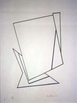 Richard Mortensen 1910-1993 - Komposition XIII  -  Richard Mortensen 1910-1993 - 1976B