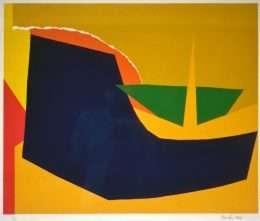 Richard Mortensen 1910-1993 - Komposition  -  Richard Mortensen 1910-1993 - 2039B