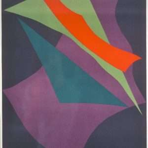 Richard Mortensen 1910-1993 - Komposition - Richard Mortensen 1910-1993 - 2051B