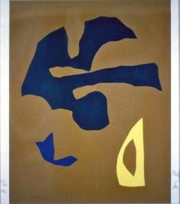 Richard Mortensen 1910-1993 - Komposition  -  Richard Mortensen 1910-1993 - 3164B