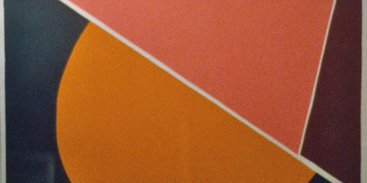 Richard Mortensen 1910-1993 - Serigrafi i farver  -  Richard Mortensen 1910-1993 - 3629B