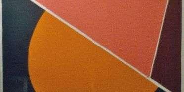 Serigrafi i farver  –  Richard Mortensen – 3629B