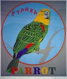 Robert Indiana - Parrot  -  Robert Indiana - 1696B