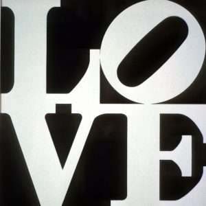 Robert Indiana - Love  -  Robert Indiana - 1838B