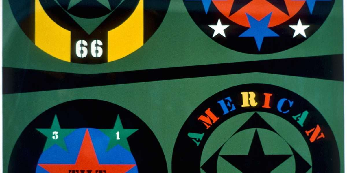 Robert Indiana - American Dream  -  Robert Indiana - 2449B