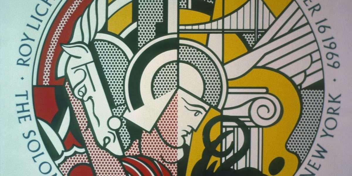 Roy Lichtenstein - Plakat  -  Roy Lichtenstein - 2276B