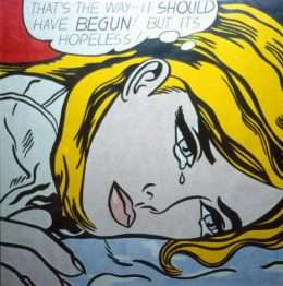 Roy Lichtenstein - That´s the way it should have begun