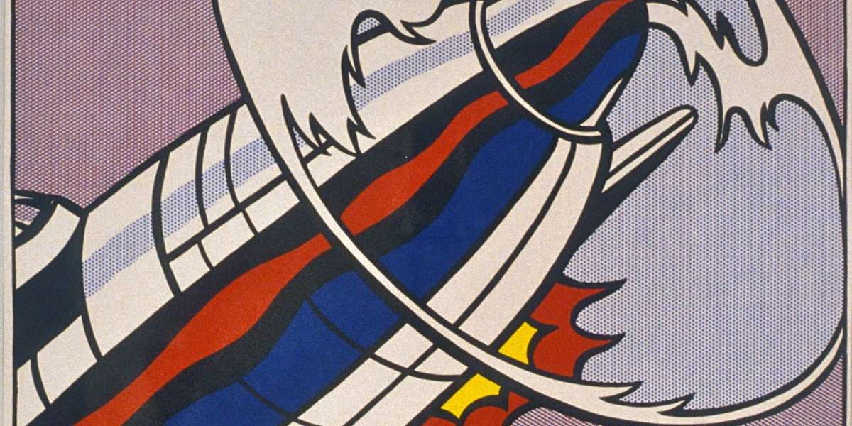 Roy Lichtenstein - As I opened fire  -  Roy Lichtenstein - 3973B