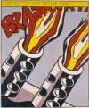 That my ship was below them  –  Roy Lichtenstein – 3974B
