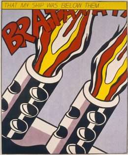 Roy Lichtenstein - That my ship was below them - Roy Lichtenstein - 3974B
