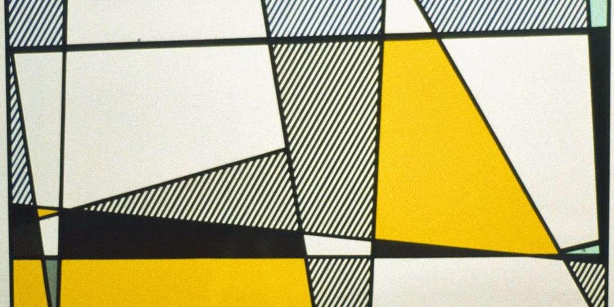 Roy Lichtenstein - Cow going abstract  -  Roy Lichtenstein - 4240B
