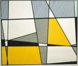 Roy Lichtenstein - Cow going abstract  -  Roy Lichtenstein - 4240B