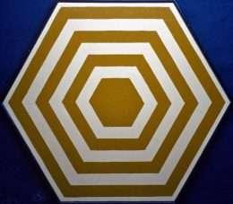 Stig Brøgger - Hexagonbillede  -  Stig Brøgger - 1436A