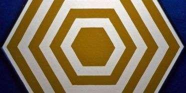 Hexagonbillede  –  Stig Brøgger – 1436A