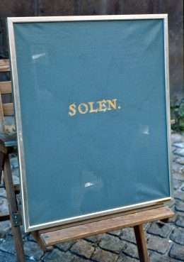 Sven Dalsgaard 1914-1999 - Solen  -  Sven Dalsgaard 1914-1999 - 1649A