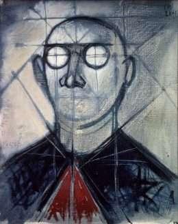 Sven Dalsgaard - Konstrueret portræt  -  Sven Dalsgaard - 2820A