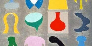 Undividable Paintings 17  –  Tom Krøjer – 4437A