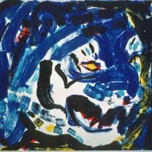 Uffe Christoffersen - Blå Tiger  -  Uffe Christoffersen - 3188B