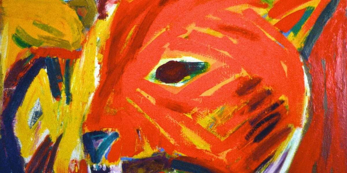 Uffe Christoffersen - Rød Canis Lupus  -  Uffe Christoffersen - 3771A
