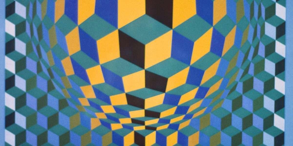 Victor Vasarely - Komposition  -  Victor Vasarely - 2164B