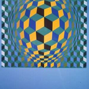 Victor Vasarely - Komposition  -  Victor Vasarely - 2164B