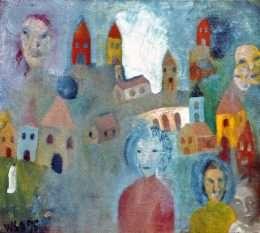 Wiliam Skotte Olsen - Komposition II  -  Wiliam Skotte Olsen - 1936A