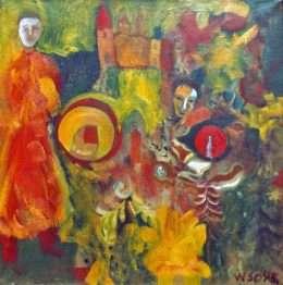 Wiliam Skotte Olsen - Komposition I  -  Wiliam Skotte Olsen - 1937A